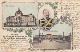 CPA - STRASBOURG - STRASSBURG - ALSACE - BELLE CARTE COMMÉMORATIVE - Strasbourg