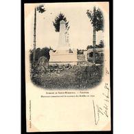 51 - PASSAVANT (Marne) - Monument Commémoratif Du Massacre Des Mobiles En 1870 - Frankreich