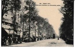 PARIS (XIV°) L'avenue D'Orléans Un Dimanche Matin - Arrondissement: 14