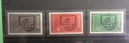 U.N.E.S.C.O (timbres De Service)1966 Neuf (Y&T N°36-37-38 Série)-Coté 2,50€ (Tous De Bonne Qualité Garantie) - France