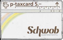 Switzerland: PTT KP-93/175A 310L Schwob Gastrotextil - Svizzera