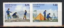 Europa CEPT 2007 Groenland - Grönland - Greenland - Danemark Y&T N°461 à 462 - Michel N°482 à 483 - 2007