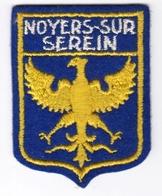 Ecusson Tissu - Noyers-sur-Serein (89) - Blason - Armoiries - Héraldique - Ecussons Tissu