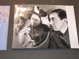 """PORTRAIT DE POL BURY - """"MIROIR MOU"""" - PHOTOGRAPHE ANDRE MORAIN - Célébrités"""