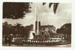 BRINDISI - PIAZZA CAIROLI - FONTANA LUMINOSA VIAGGIATA  FP - Brindisi