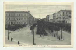 BARI - CORSO CAVOUR E PALAZZO DEL CONSIGLIO PROV ECONOMIA - VIAGGIATA FP - Bari