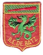 Ecusson Tissu - Ile De Batz (29) - Blason - Armoiries - Héraldique - Ecussons Tissu