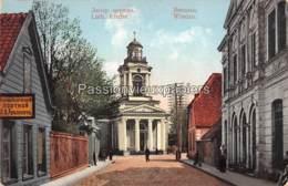 VENTSPILS WINDAU WINDAWA 1916 LUTHERAN KIRCHE  (Feldpost) - Lettland