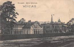 VENTSPILS WINDAU WINDAWA 1916 VILLA ŠULC  RUE VASARNĪCU   (Feldpost) - Letland