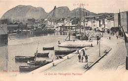 CPA La Ciotat - Le Quai Des Messageries Maritimes - La Ciotat