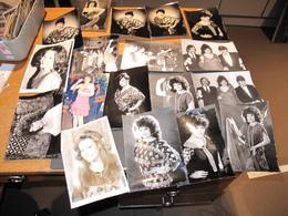 JEAN JACQUES DEBOUT/FRANCIS LALANNE/ANDRE LAMY ET DRAGANA MIRKOVIC - LOT DE 18 PHOTOS - VOIR SCANS - Célébrités