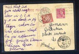 ENTIER POSTAL N°416CP1....taxé à 30 Cts - Postal Stamped Stationery