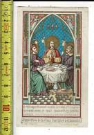 X 143 - IMAGE RELIGIEUSE - Les Discpiles D Emmaus - Santini