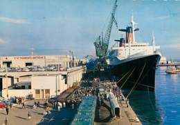 Paquebot France Au Havre - Dampfer
