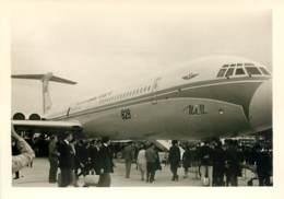 Photo 13x9 Cm - Avion Aeroflot Russe - Exposition Ou Salon De L'Aviation Années 50 - Aviazione