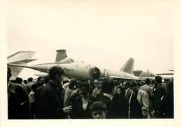 Photo 13x9 Cm - Avion Mirage IV A - Bombardier Dassault - Exposition Ou Salon De L'Aviation Années 60 - Aviazione