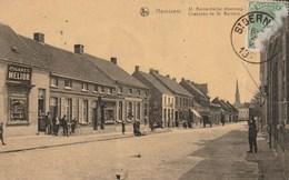 HEMIXEM (Hemiksem) - St. Bernardsche Steenweg - Geschreven Door Soldaat Vanuit Huis Op Kaart (x) - Uitg. Van Herp - 1920 - Hemiksem