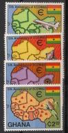 Ghana - 1980 - N°Yv. 684 à 687 - ECOWAS - Neuf Luxe ** / MNH / Postfrisch - Ghana (1957-...)