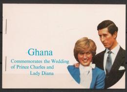 Ghana - 1981 - N°Yv. C714 - Carnet Princess Diana - Neuf Luxe ** / MNH / Postfrisch - Ghana (1957-...)