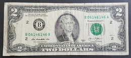 EM - USA 2 Dollars Banknote 2013 2 #B06146146A - Federal Reserve Notes (1928-...)
