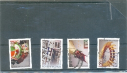 2010 AFRIQUE DU SUD Y & T N° 1563 - 1569 -1575 -1578 ( O ) Les 4 Timbres - Afrique Du Sud (1961-...)