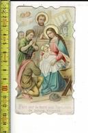 X 149  - IMAGE RELIGIEUSE - PAIX SUR LA TERRE AUX HOMMES DE BONNE VOTONTE - Santini