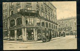 GENEVE - RUE CENTRALE - MAGASIN PAISANT-L'HUILLIER , L.RUSILLON - ANIMEE. - GE Genève