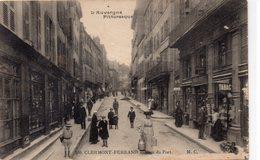 Clermont-Ferrand Très Animée Rue Du Port Commerces Tabac - Clermont Ferrand