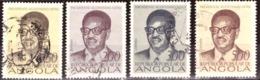 Angola  1976 - The 1st Anniversary Of Independence. Dr. Agostinho Neto - Angola