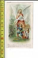 X 159  - IMAGE RELIGIEUSE - DIEU A ORDONNE A SES ANGES DE VOUS GARDER DANS TOUTES VOS VOIES - Santini