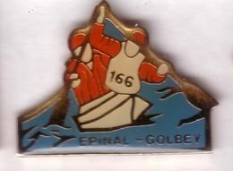 C04 Pin's CANOË KAYAK ÉPINAL GOLBEY VOSGES Achat Immédiat - Canoa