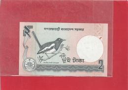 . BANGLADESH . 2 TAKA . SCANES - Bangladesh
