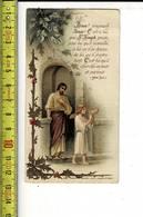 X 163  - IMAGE RELIGIEUSE - JESUS - Santini