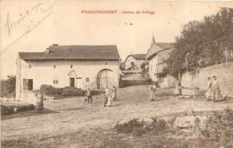 FAUCONCOURT CENTRE DU VILLAGE 1914 - Autres Communes