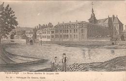 Liège, La Meuse Derrière St Jacques 1850,  Ongebruikt En Niet Gelopen - Liege