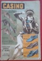 Catalogue Général Et Primes Casino Hiver 1938-1939 50 Pages - Publicités
