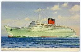 CUNARD R.M.S. CARONIA - Steamers