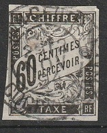 Emission Colonies Générales Taxe 1864 N° 11 Marges Courtes (F15) - Postage Due