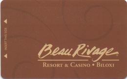 Carte Clé Hôtel : Beau Rivage Resort & Casino : Biloxi MS - Cartes D'hotel