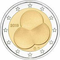 Finlande 2019 : 2 Euro Commémorative '100 Ans De La Constitution' (UNC - Issue De Rouleau) - Disponible En France - Finlande