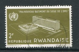RWANDA- Y&T N°158- Oblitéré - Rwanda