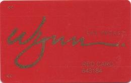 Carte De Membre Casino : Wynn Las Vegas TM - Cartes De Casino
