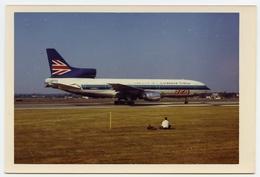 PHOTO : LOCKHEED TRISTAR IN BEA / EASTERN LIVERY - FARNBOROUGH AIR SHOW, 1972 - Luftfahrt