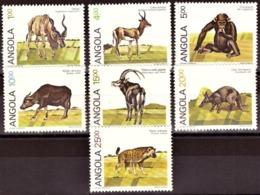 Angola  1984 - Mammals / Mamiferos # MNH # Cat Value €12.50 - Angola
