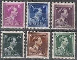 641/646 ** Leopold 3 - 1936-1957 Collar Abierto