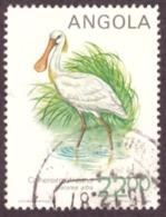 Angola 1984 -  Birds  ( Platalea Alba ) Cat.value €0.75 - Angola
