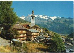ANTAGNOD M. 1710 (Val D'Ayas) - Scorcio Panoramico - Catena Del Monte Rosa M. 4633 - Italia