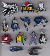 COLECCION DE 13 PINS DE BATMAN - COMIC SUPERHEROES - BD