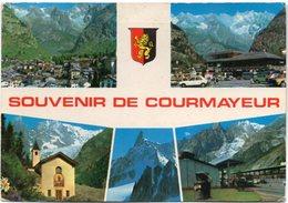 SOUVENIR DE COURMAYEUR M. 1224 - Vedute - Italia