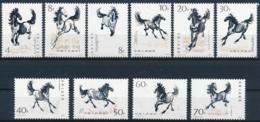 China - 1399-1408 - Pferde - Chevaux - Horses - Cavalli - Einwandfrei Postfrisch/** - MNH - Ongebruikt